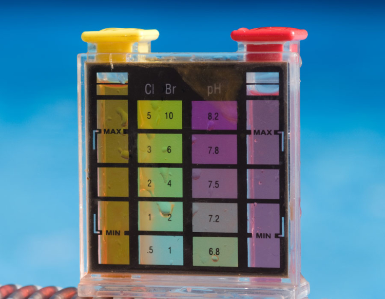 Chlorine meter