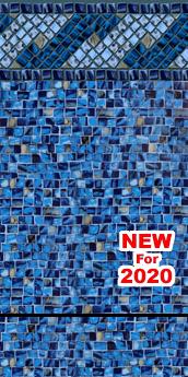 Amelia Tile ~ 28 mil Cobalt Print ~ 20 mil