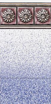 Rosetta Tile ~ 20 mil Sand Pebble Print ~ 20 mil