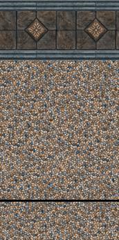Vienna Tile ~ 28 mil Hallstatt Print ~ 20 mil