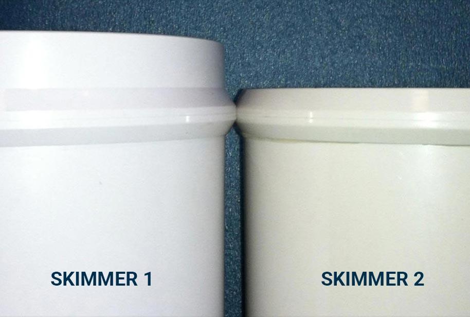 Skimmer sizes